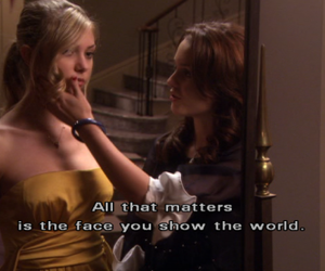face, leighton meester, and mirror image