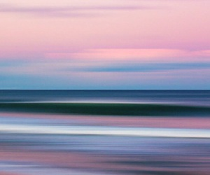 beach, nature, and pink image