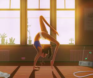 art, dance, and fitness image