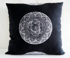 eco friendly, etsy, and yoga pillow image