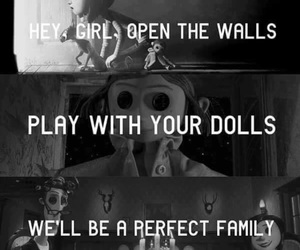 coraline, dollhouse, and melanie martinez image