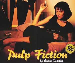 pulp fiction, uma thurman, and film image