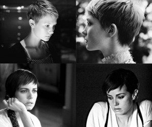 mia kirshner, Mia Wasikowska, and pixie cut image