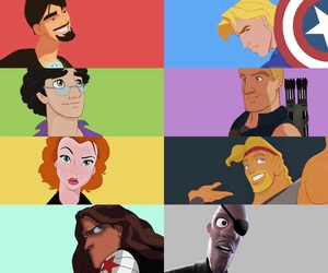 disney and Marvel image