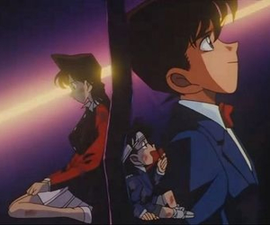 anime, detektiv conan, and sweet image