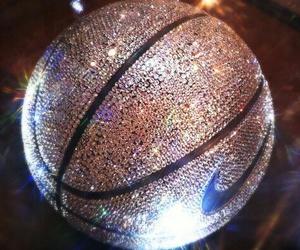 nike, Basketball, and glitter image