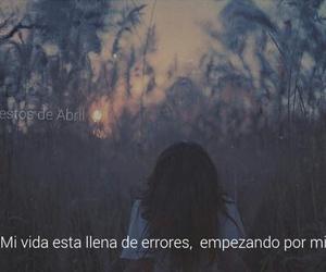 frases, tristeza, and vida image