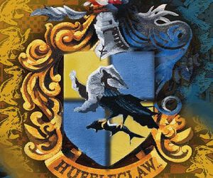 ravenclaw, hufflepuff, and huffleclaw image