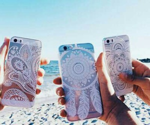 iphone, beach, and case image