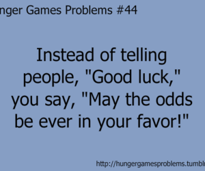 hunger games, good luck, and the hunger games image