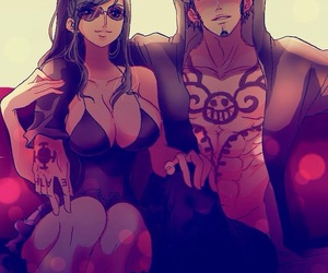 Law and one piece image