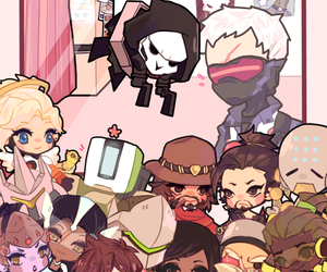 blizzard, chibi, and overwatch image