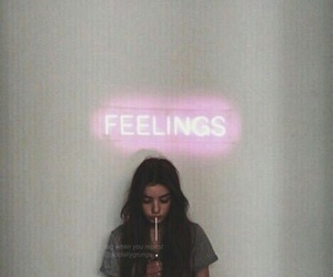 feelings, girl, and grunge image