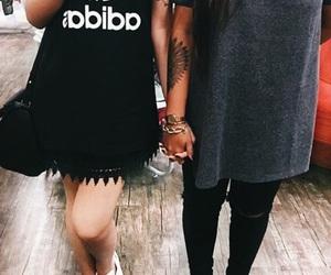 adidas, couple, and girls image