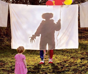 clown, horror, and scary image