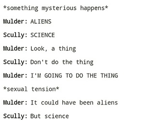 fox mulder, true, and the x files image