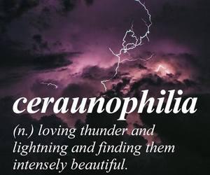 lightning, thunder, and words image