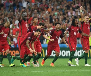 football, portugal nt, and euro 2016 image