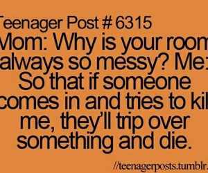 funny, mom, and room image