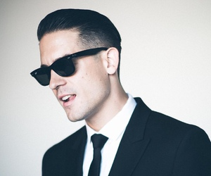 g-eazy, suit, and when it's dark out image
