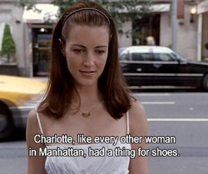 sex and the city, shoes, and charlotte image