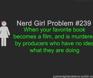 book, girl, and problem image