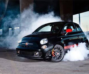 500, abarth, and cars image