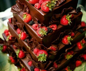 chocolate, frutilla, and rica image