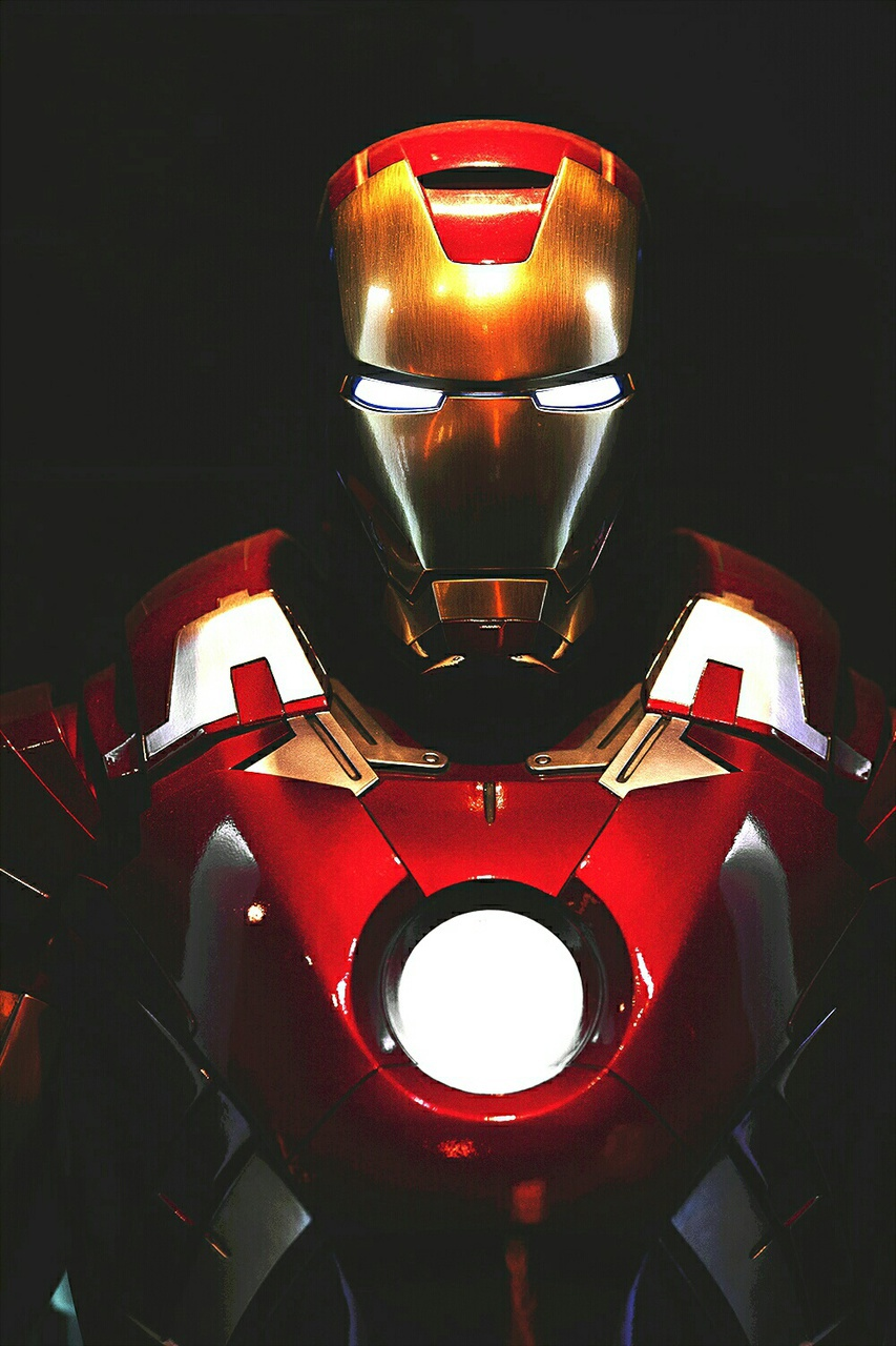 iron man, black and white, and Marvel image