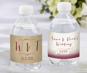 label, party favors, and wedding image