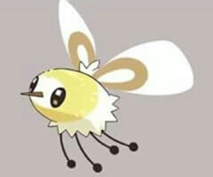 pokemon, sun & moon, and cutiefly image