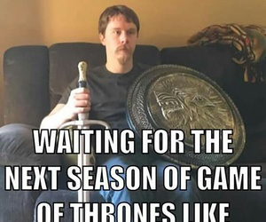 game of thrones, fandom, and funny image