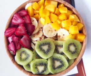 banana, FRUiTS, and breakfast image
