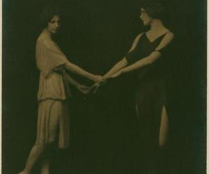 isadora duncan and arnold genth image