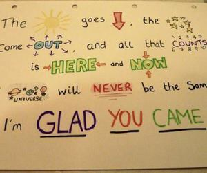 the wanted, glad you came, and music image