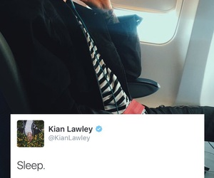 airplane, boy, and sleep image