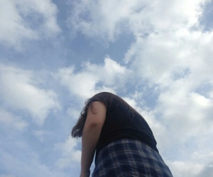 aesthetic, blue, and sky image