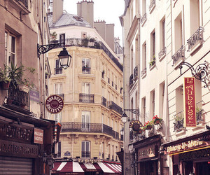 paris, street, and city image