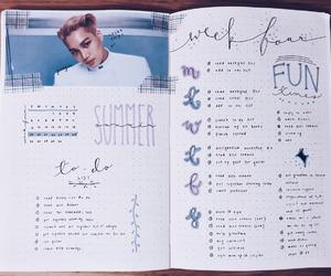 exo and studyblr image