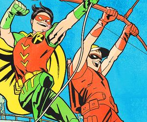 Arsenal, dick grayson, and dc comics image