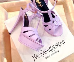 shoes, fashion, and YSL image