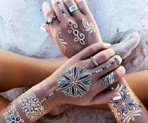tattoo, summer, and beach image
