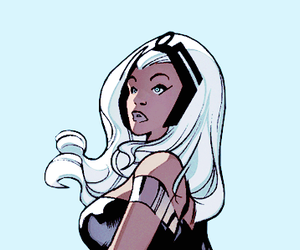 storm, x-men, and x men image