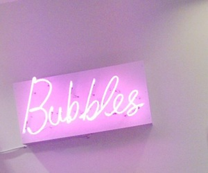 bubbles, pink, and light image