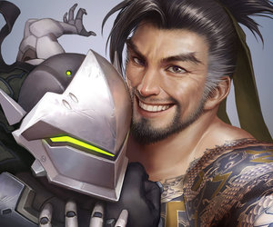 brothers, fanart, and overwatch image