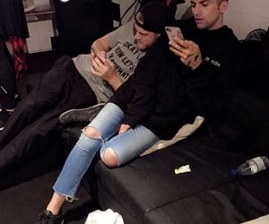 couch, couple, and cozy image