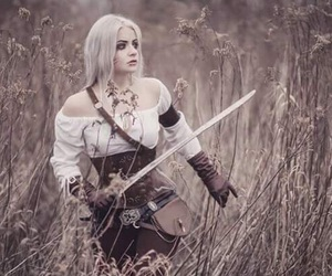 cosplay, sword, and video games image