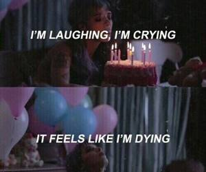 cry baby, girl, and song image