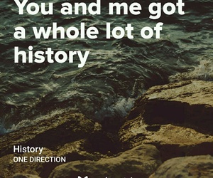 history, 1d, and Lyrics image
