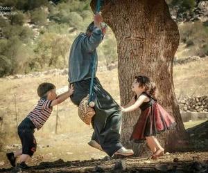 صور , اطفال, and الاب image